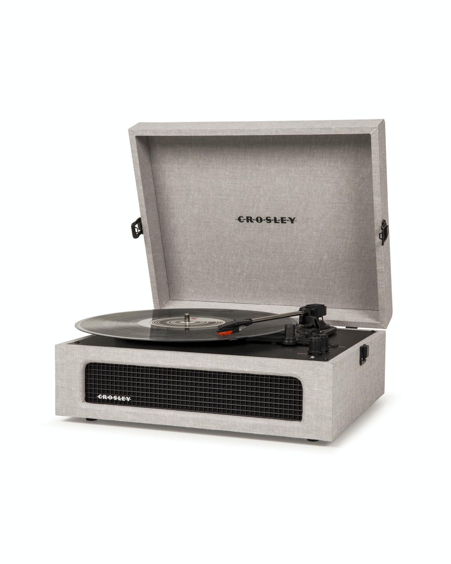 Crosley Crosley Voyager Portable Turntable Grey