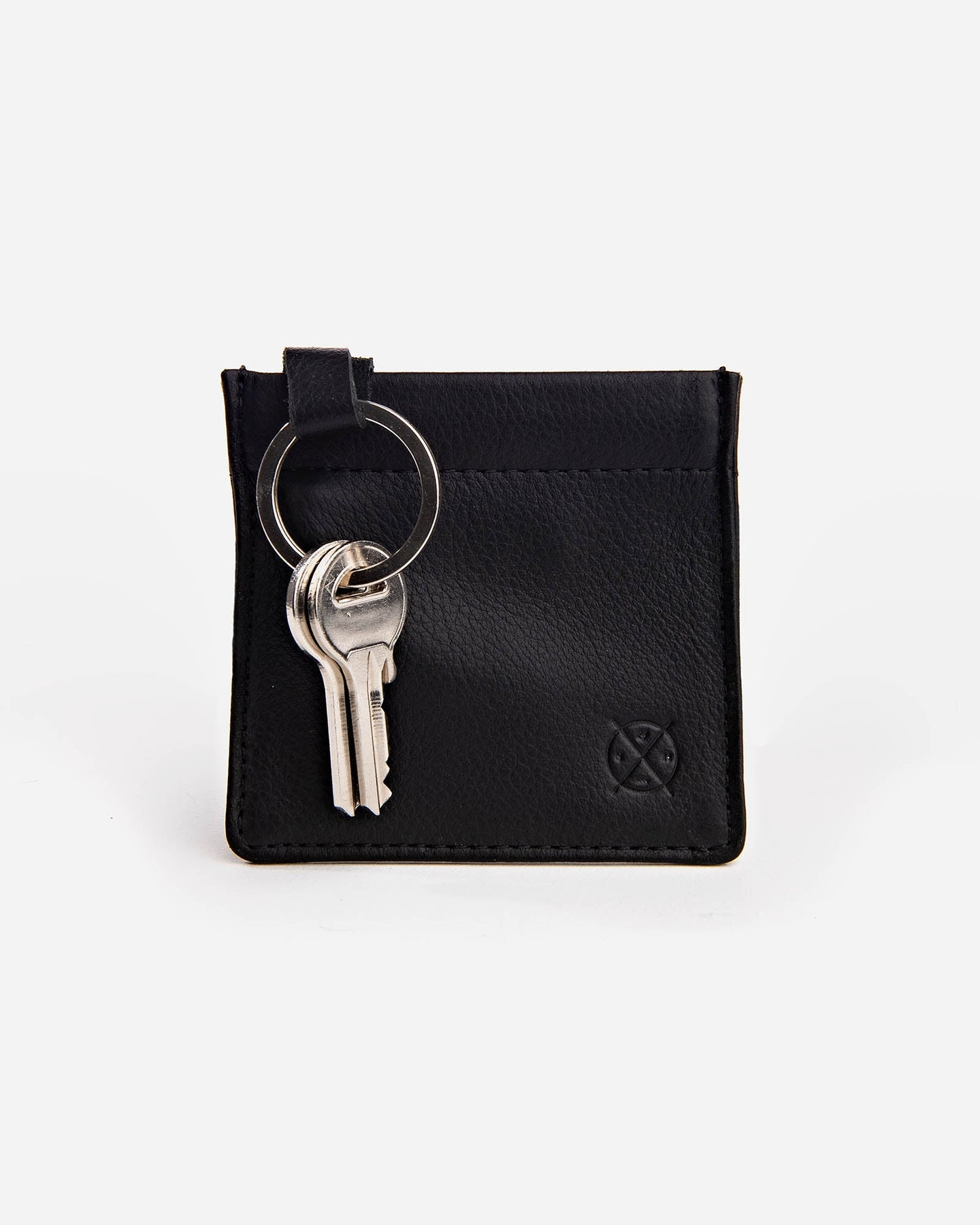 Stitch And Hide Key Pouch Black