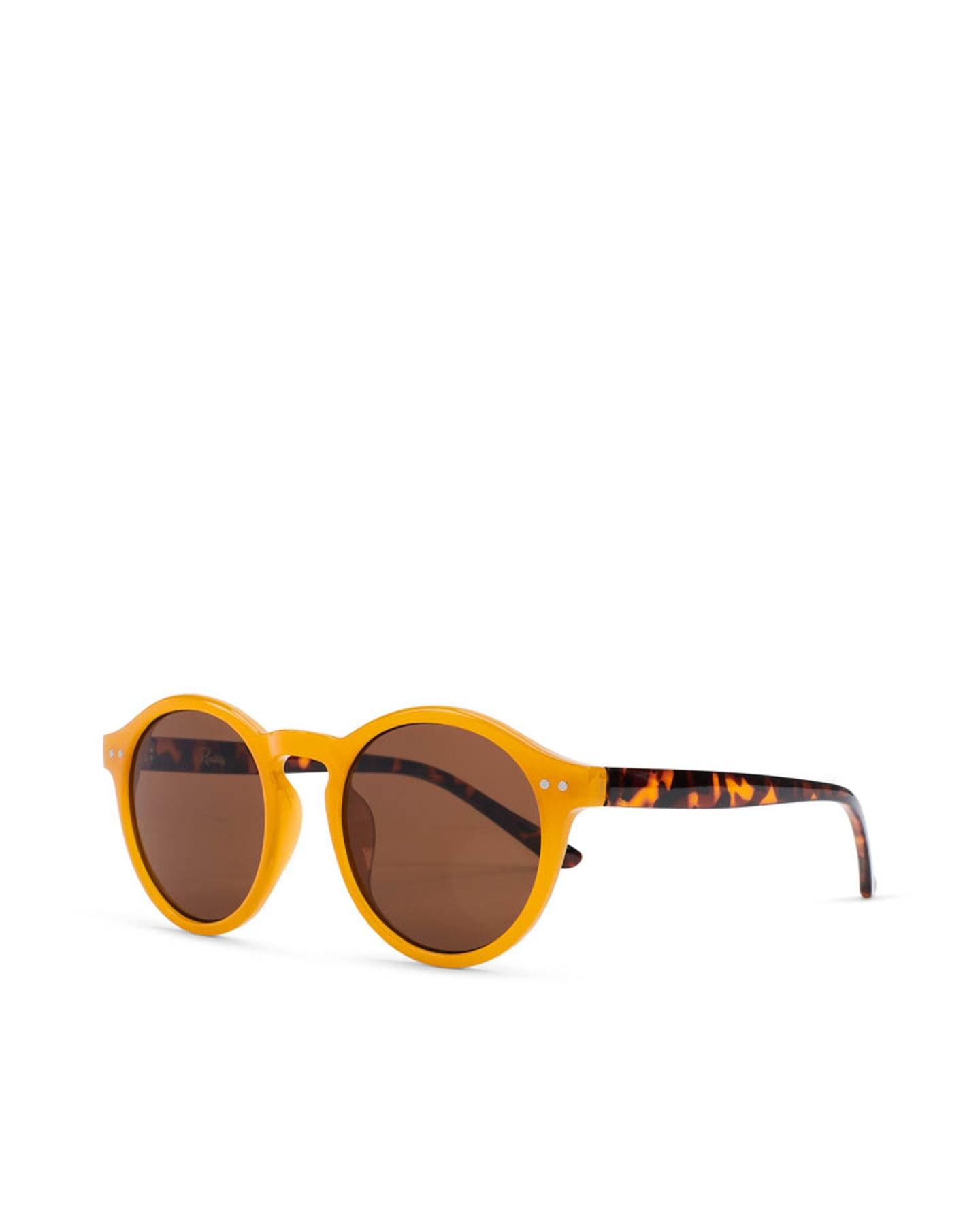 Reality Eyewear Hudson Sunglasses Mustard Mustard