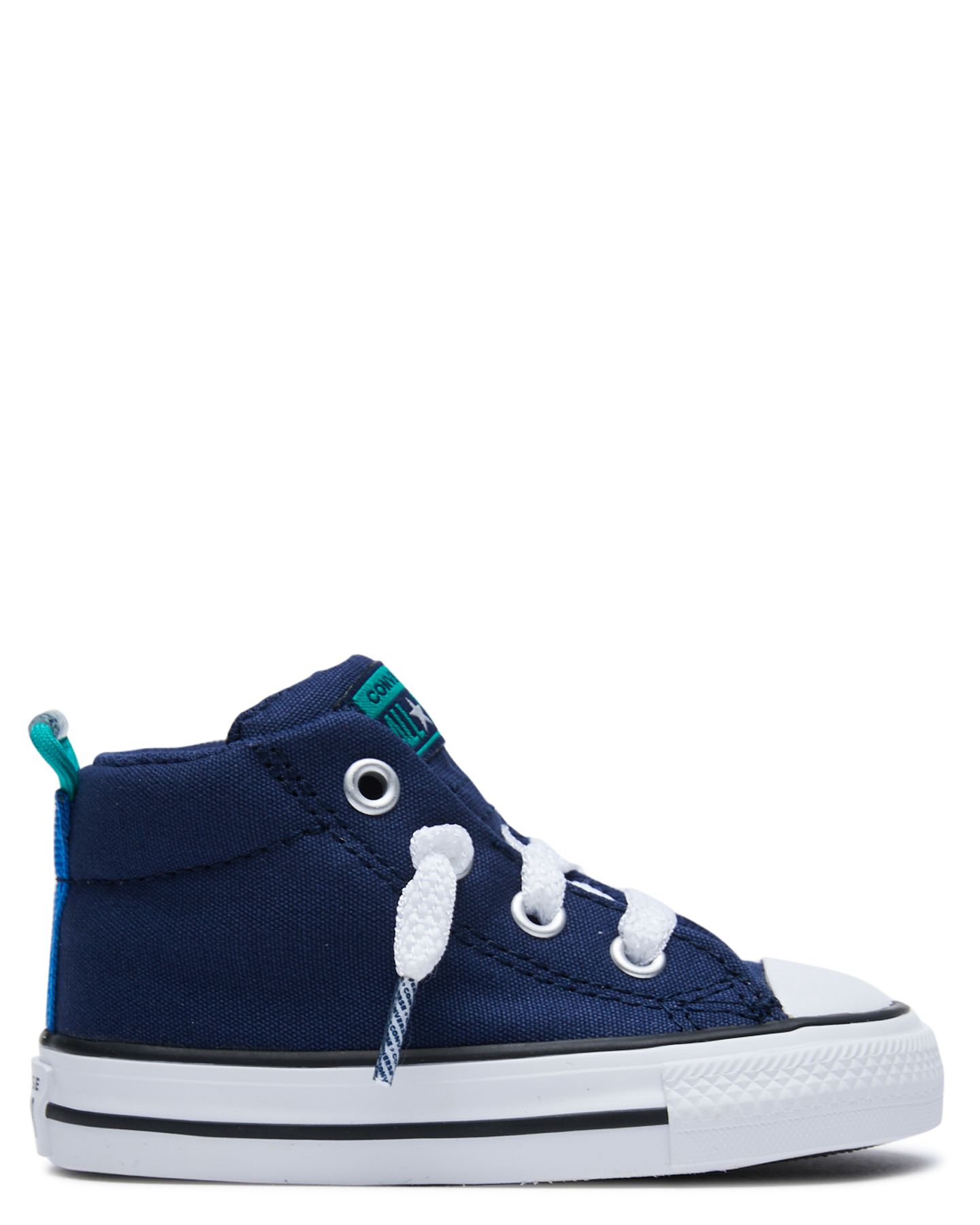 Converse Kids Chuck Taylor Street Shoe - Toddlers Midnight Navy Midnight Navy