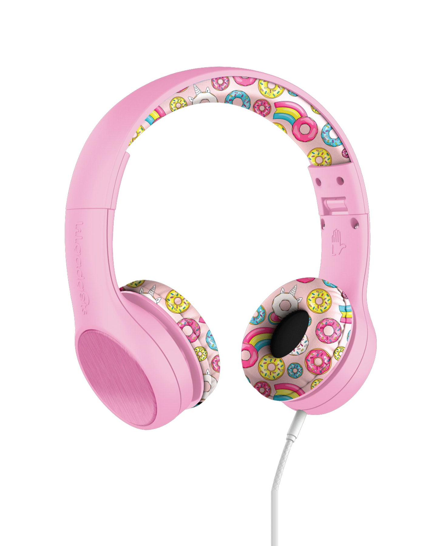 Lil Gadgets Connect+ Style Children'S Wired Headphones Pink Doughnuts