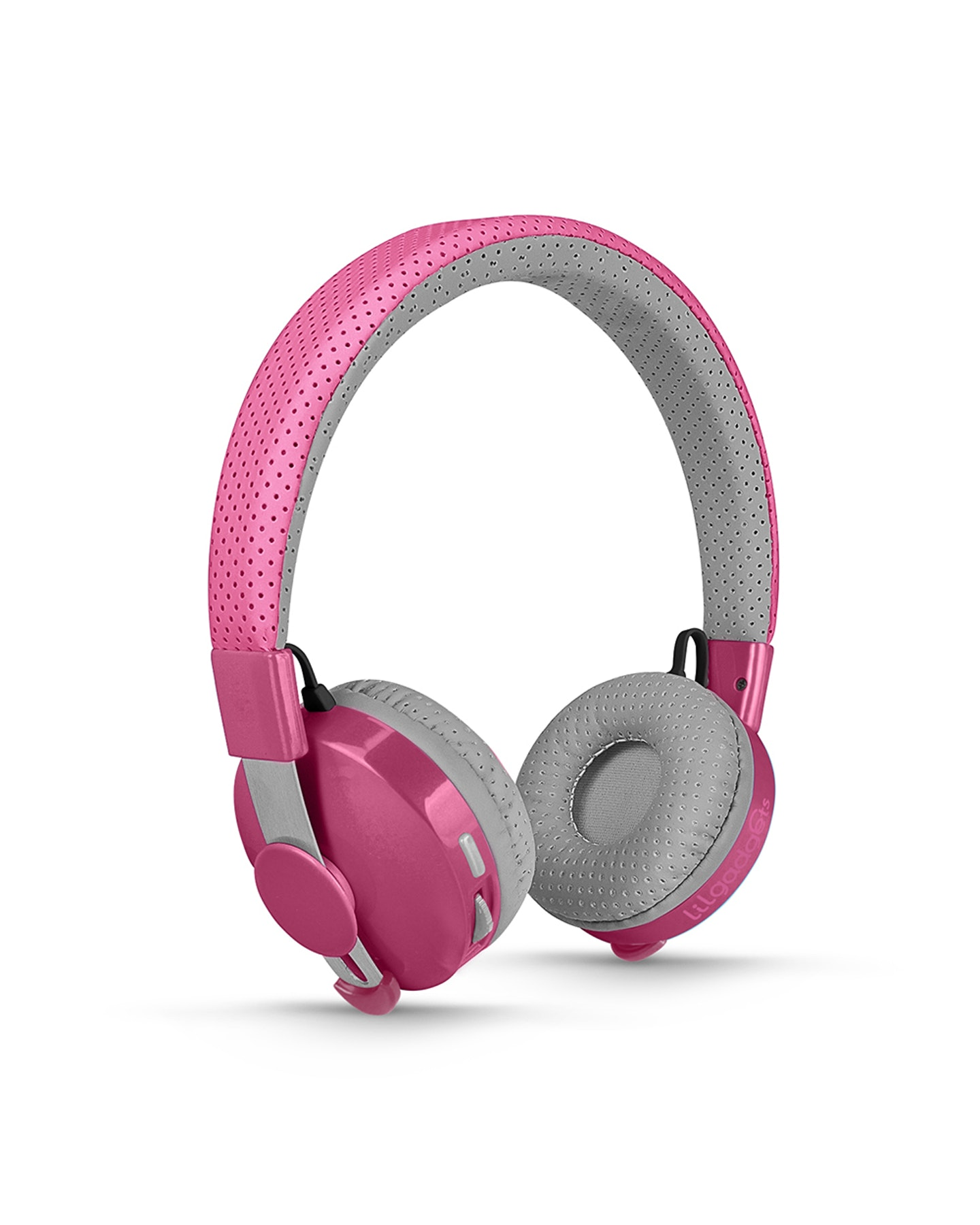 Lil Gadgets Untangled Pro Children'S Wireless Bluetooth Headphones Pink