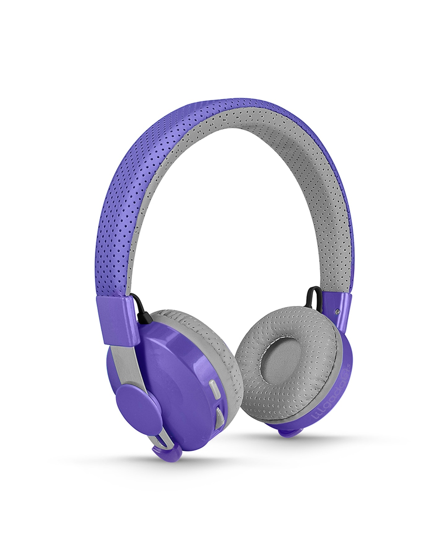 Lil Gadgets Untangled Pro Children'S Wireless Bluetooth Headphones Purple