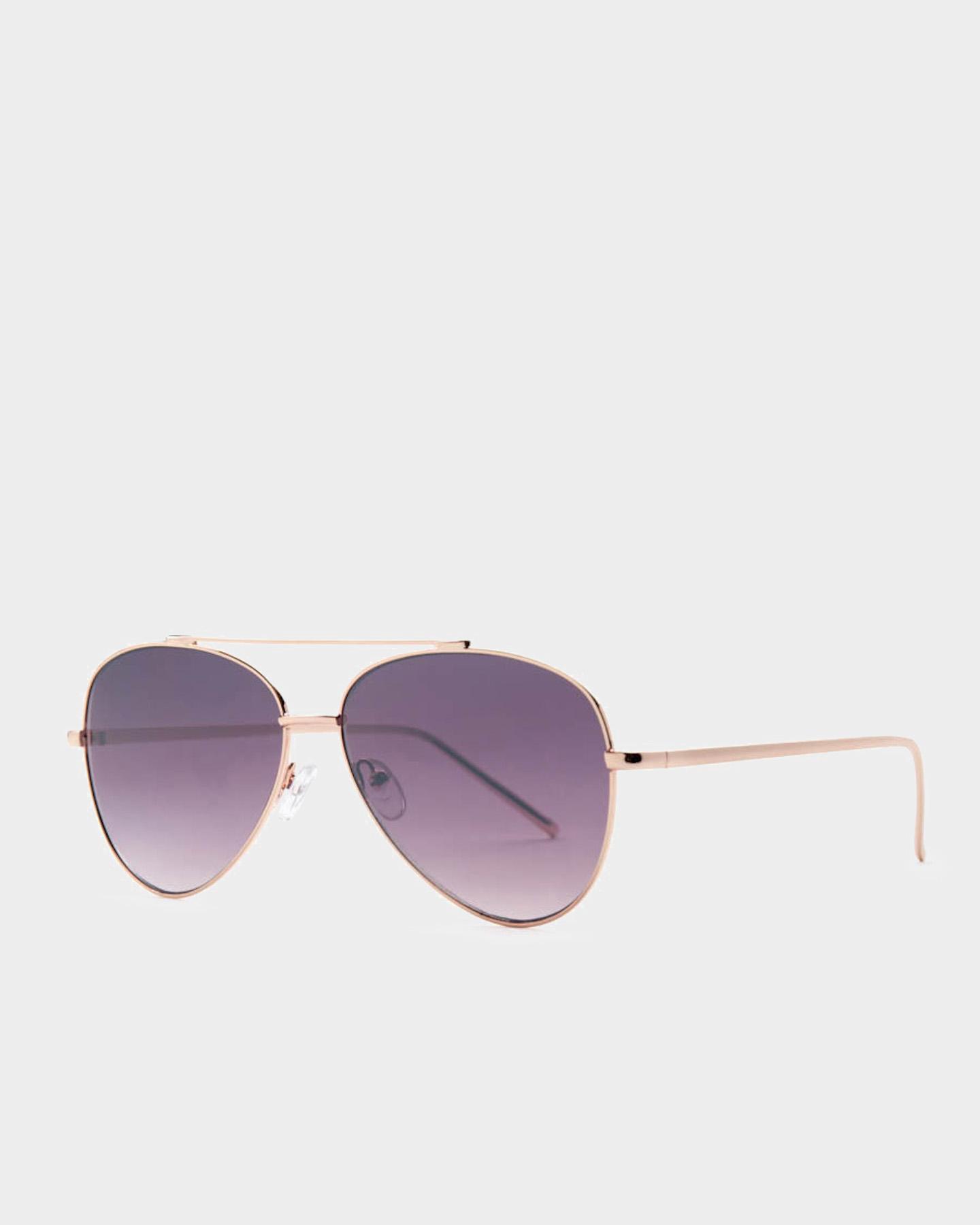 Reality Eyewear Mr Chip Sunglasses Rose Gold