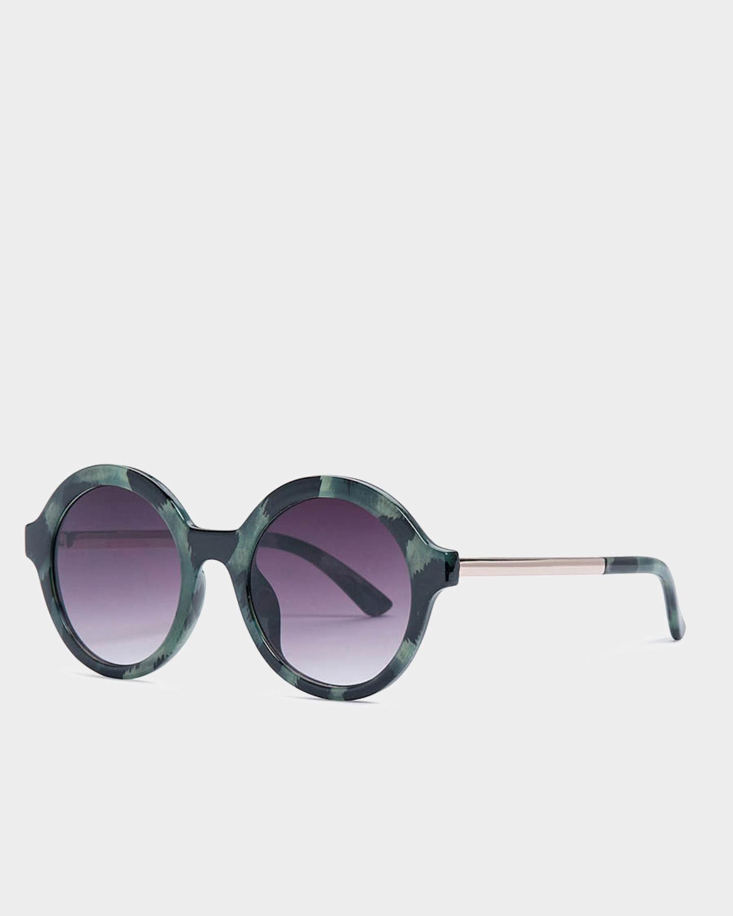 Reality Eyewear Mind Bomb Sunglasses Jungle Green