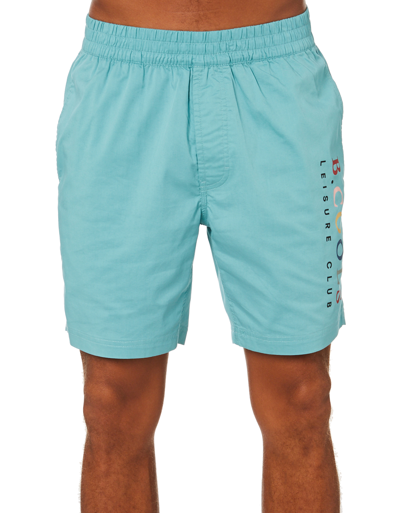 Barney Cools Leisure Club Mens Short Teal Teal