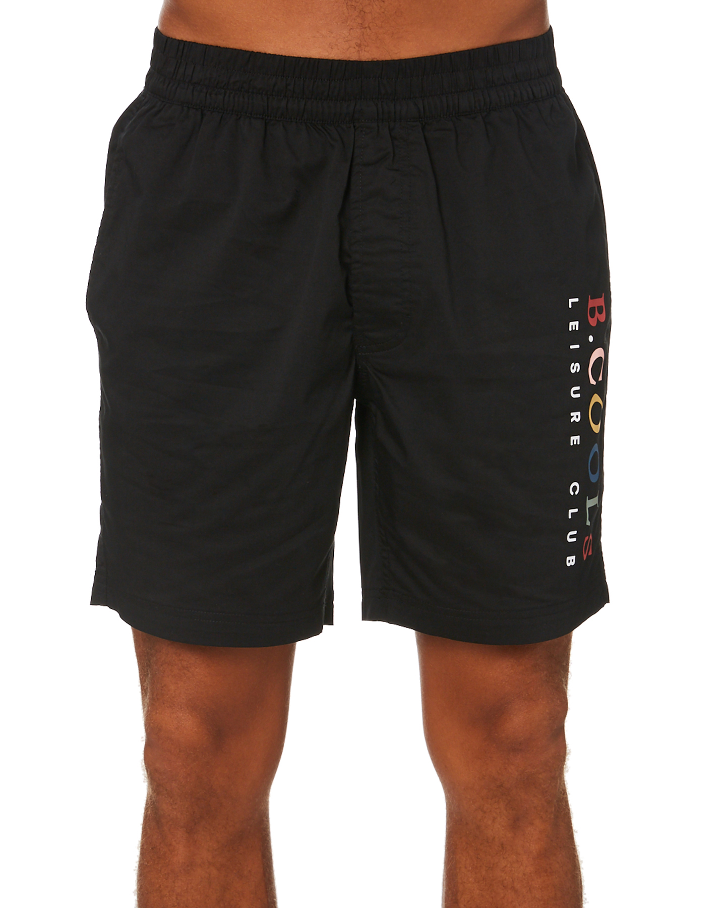 Barney Cools Leisure Club Mens Short Black