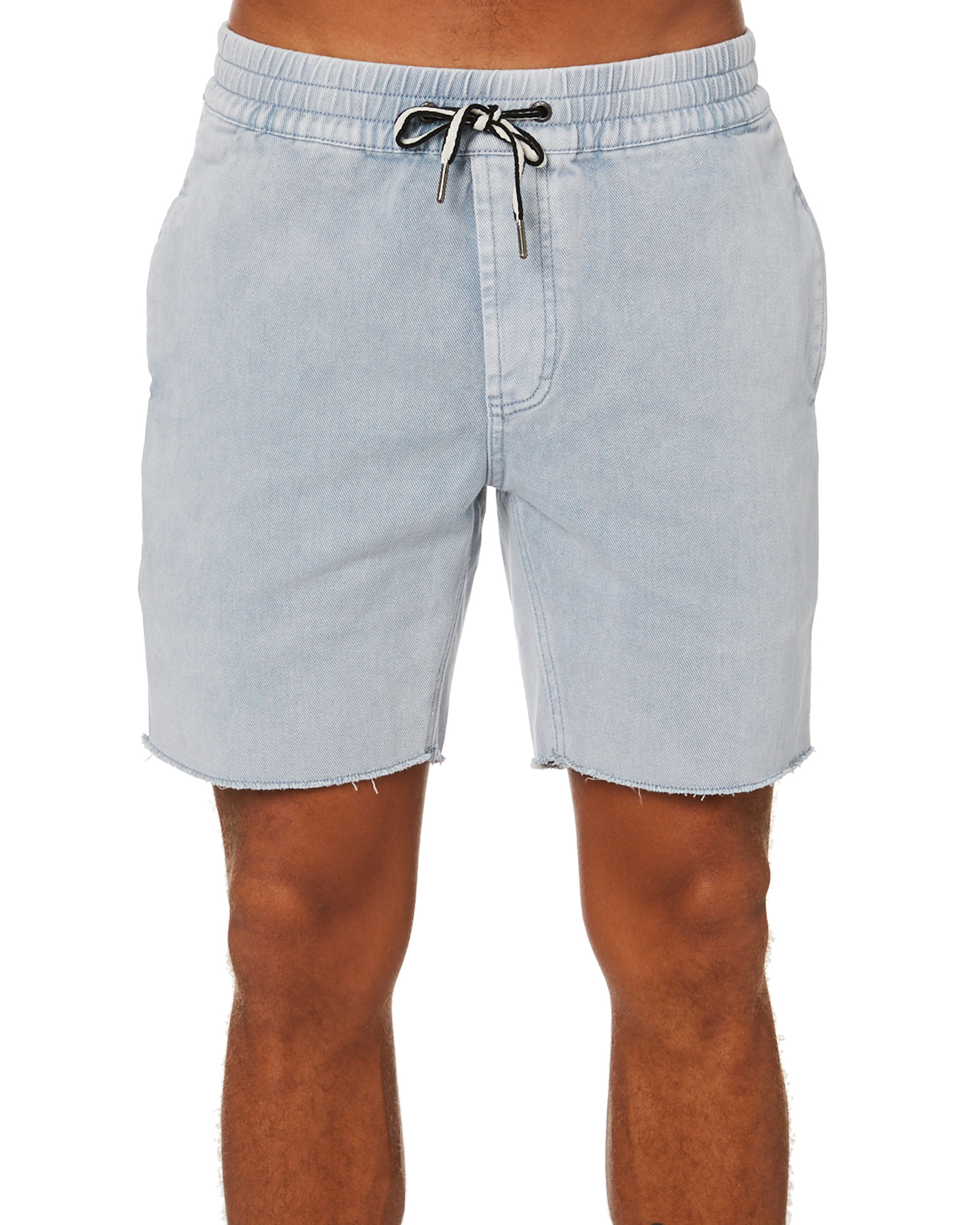 Barney Cools B Relaxed Mens Short Indigo Acid Indigo Acid