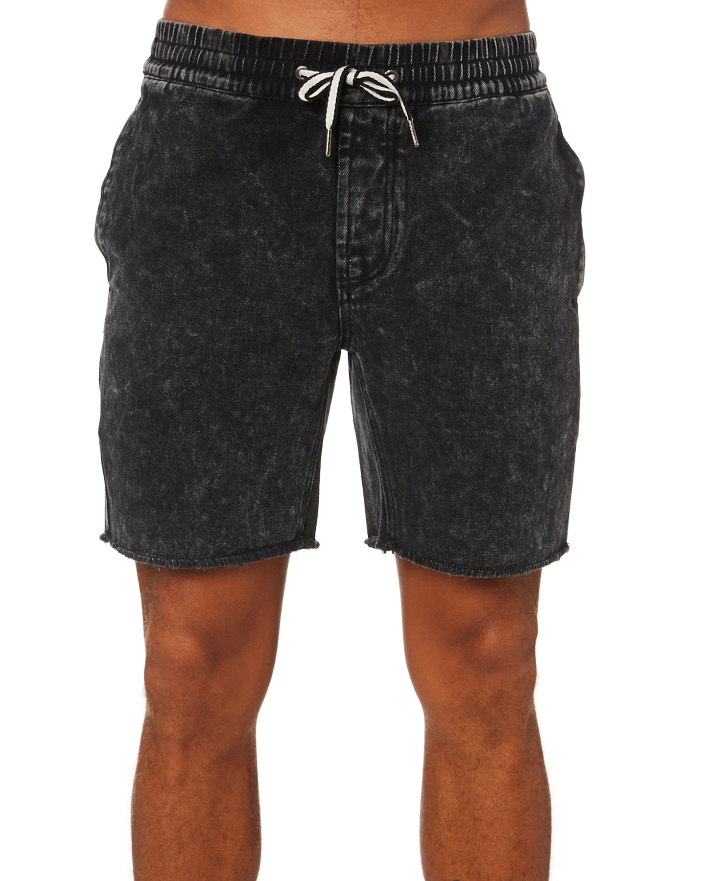 Barney Cools B Relaxed Mens Short Black Acid