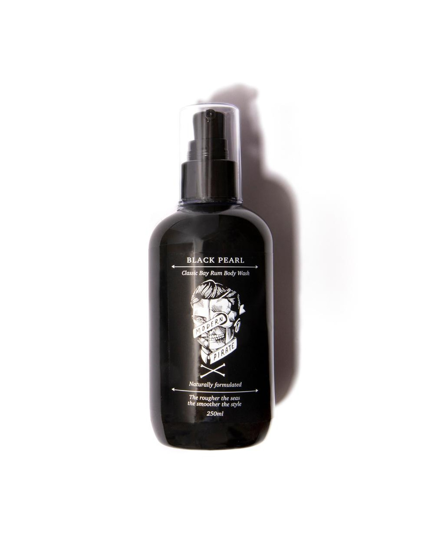 Modern Pirate Black Pearl / Classic Bay Rum Body Wash Natural