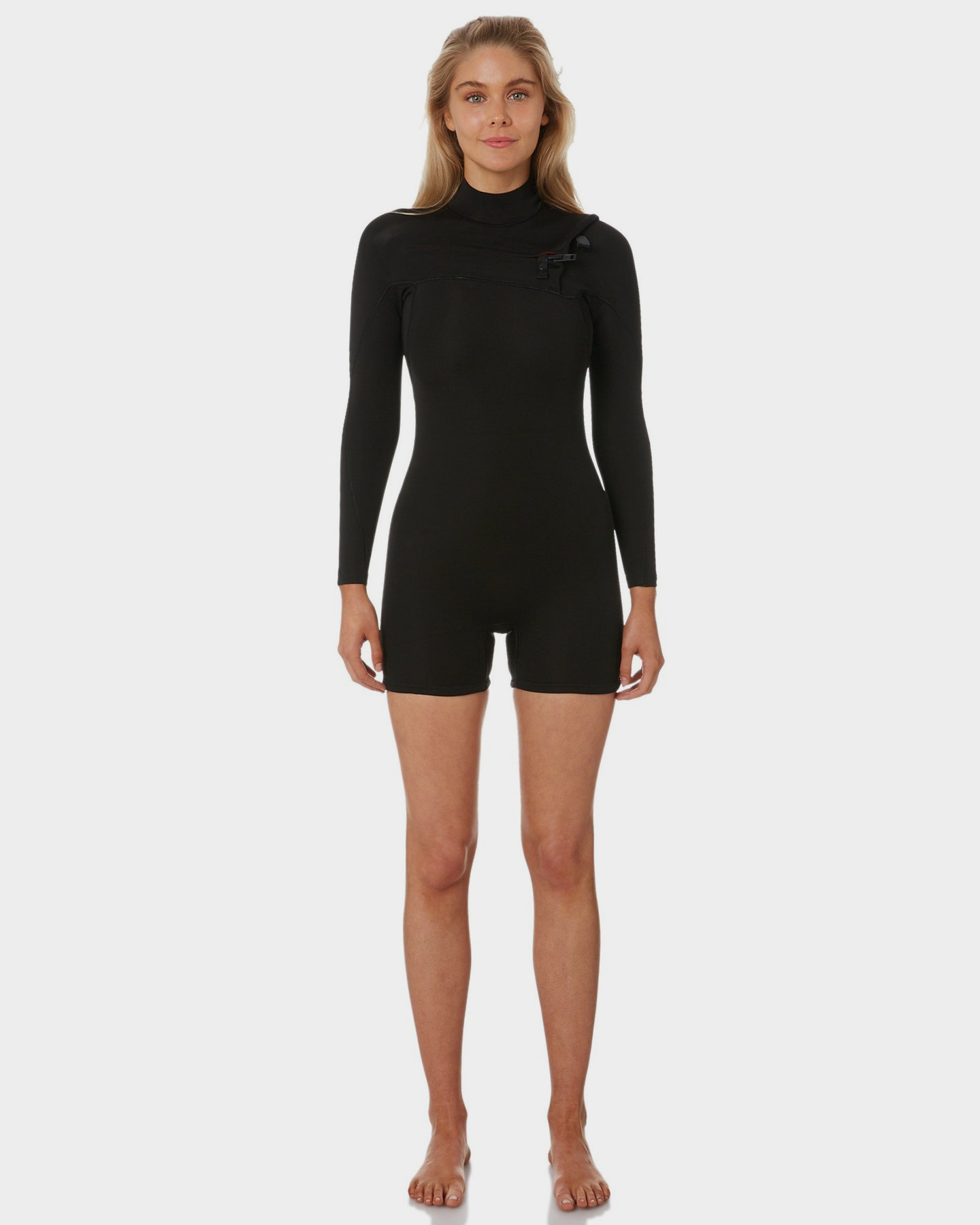 Project Blank Womens L/S High Performance Spring Suit Black