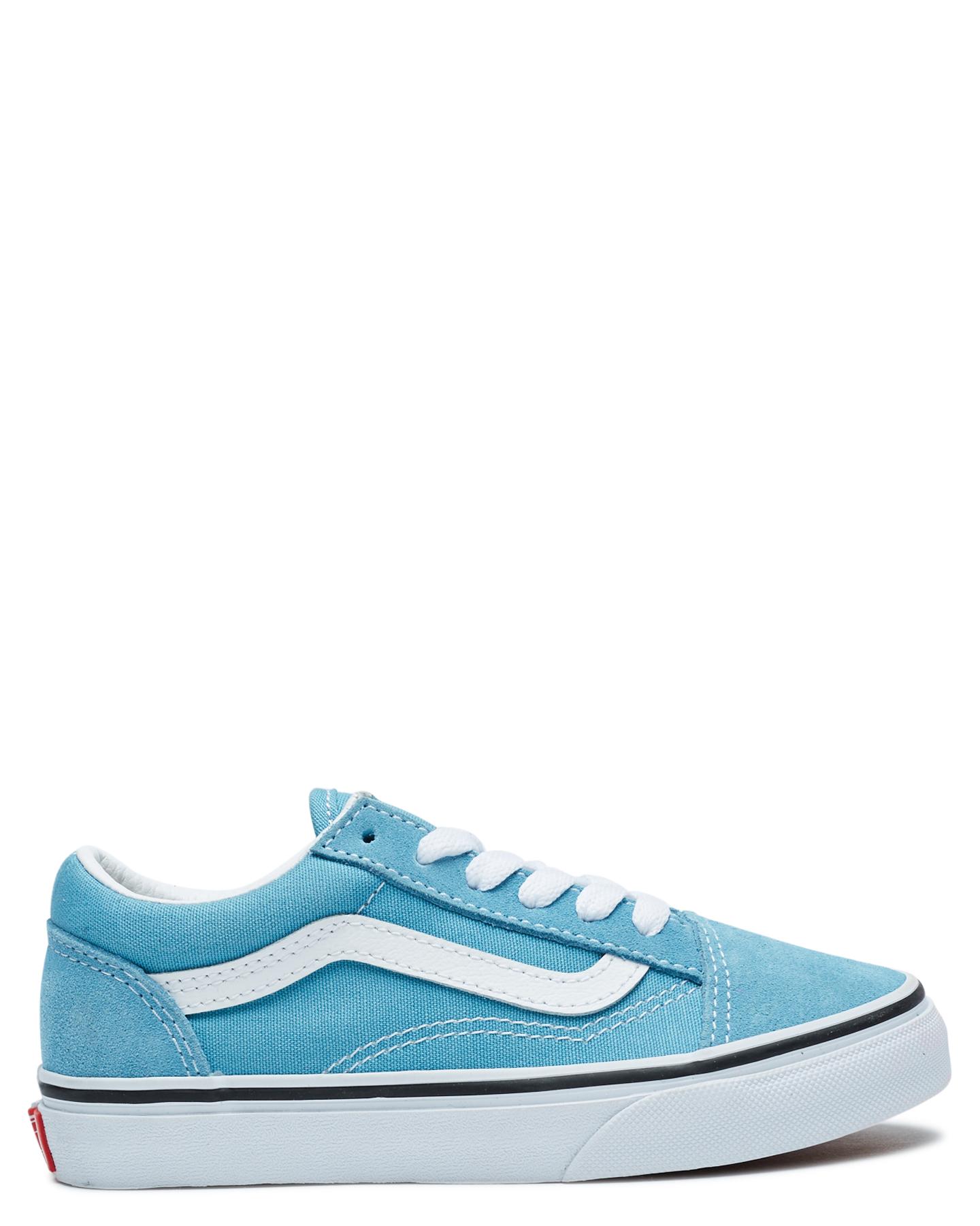 Vans Old Skool Shoe - Youth Blue  White