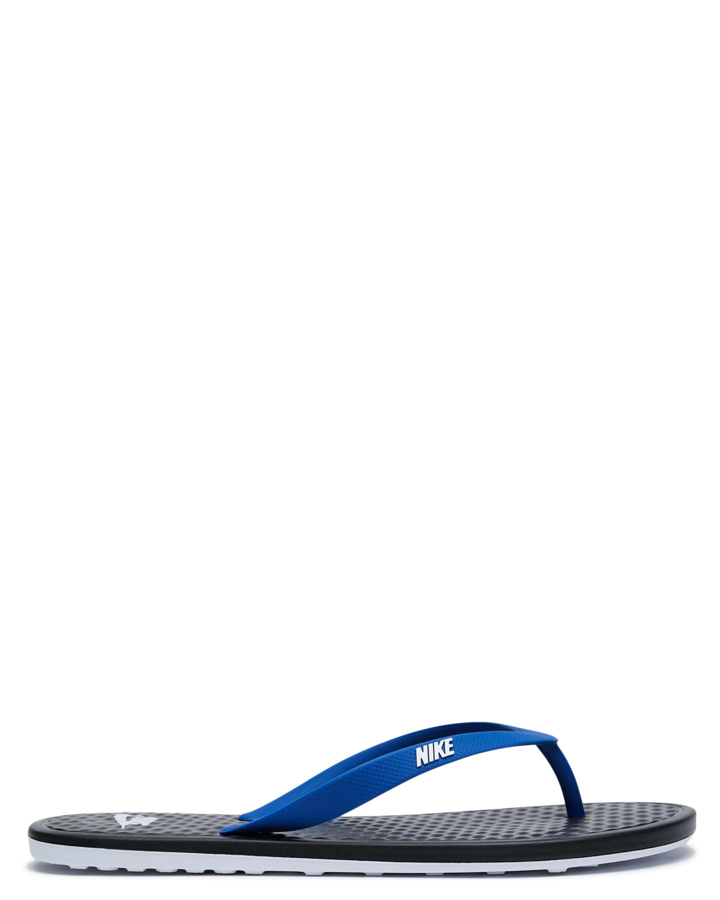Nike On Deck Flip Flop Black Royal