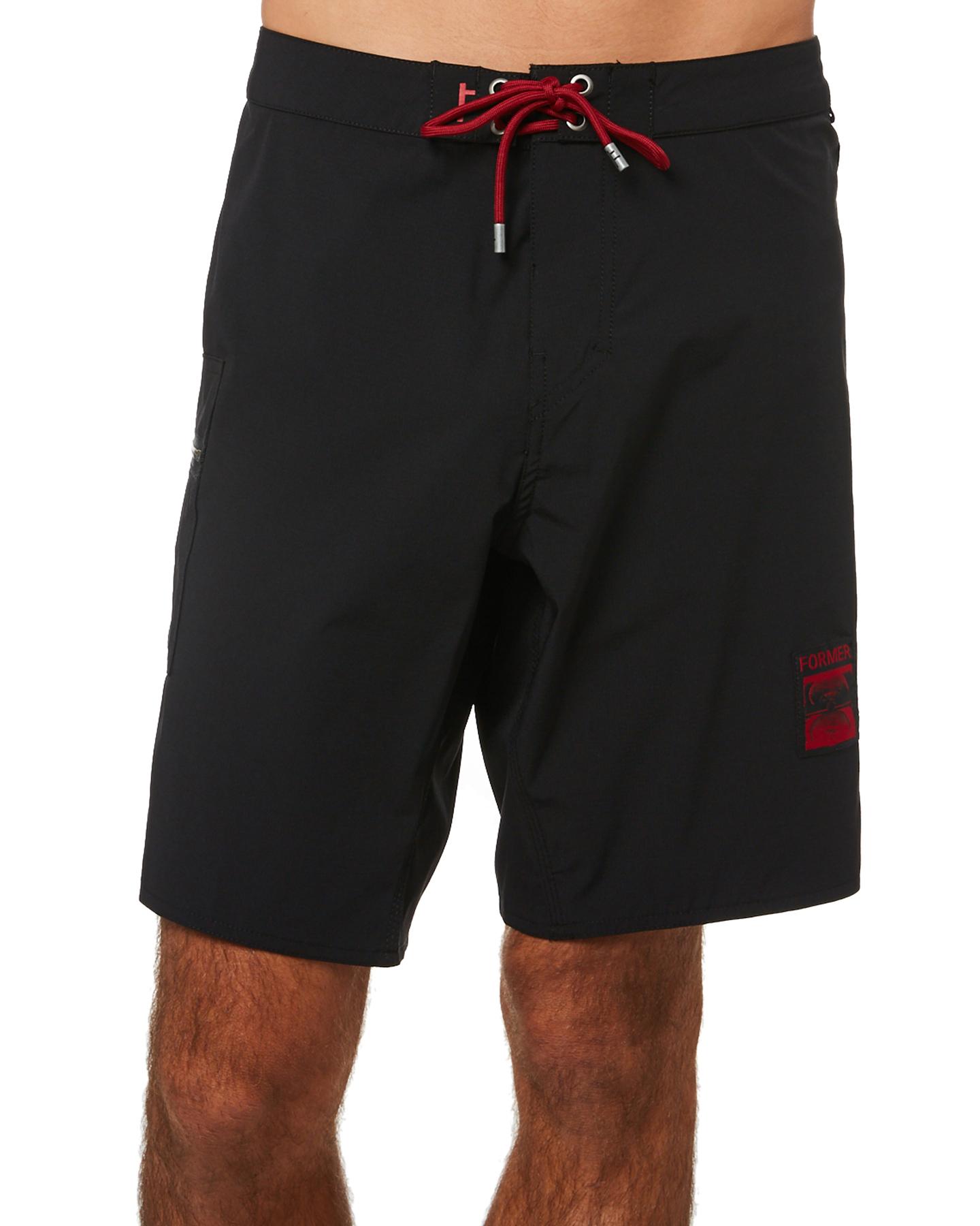 Former Dane Mens 18.5In Trunk Black Red