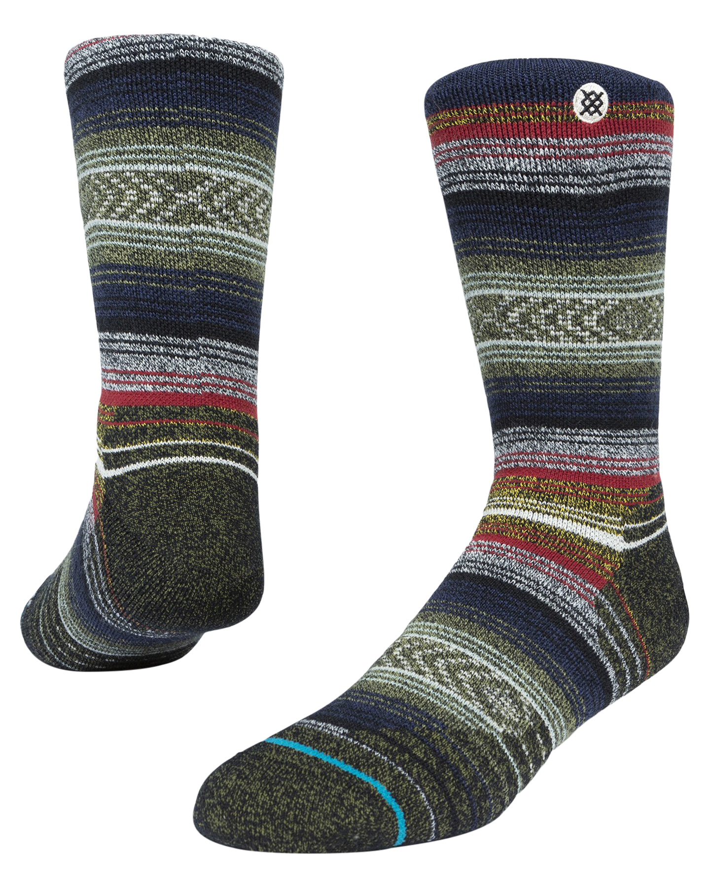 Stance Windy Peak Sock Black